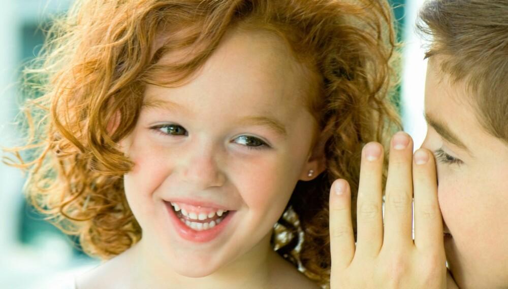BÆSJEHUMOR: Ikke noe er så gøy som bæsj, tiss og promp. Ihvertfall ikke om du er 3-4 år.