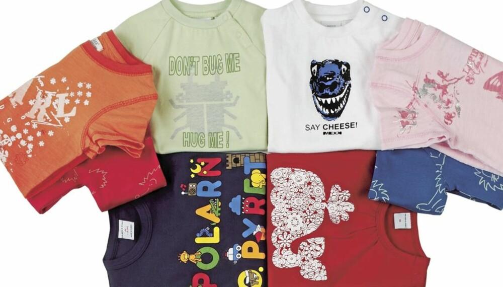 ceeb64bd T-skjorter: Ekte forbruksvare for småbarnsforeldre