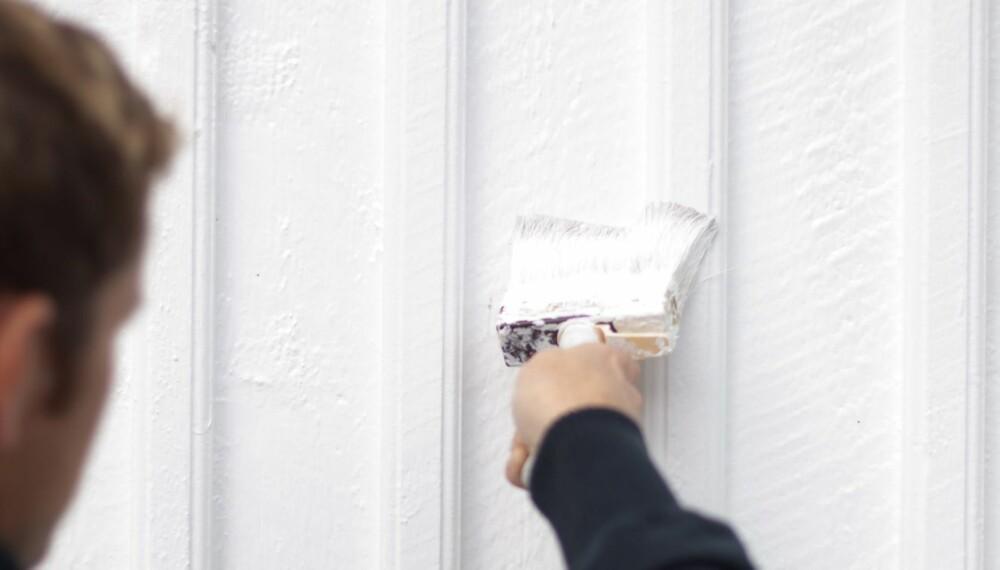 HUSMALING: Akrylmaling, alkydmaling, hydbridmaling, beis eller lakk til husets fasade?