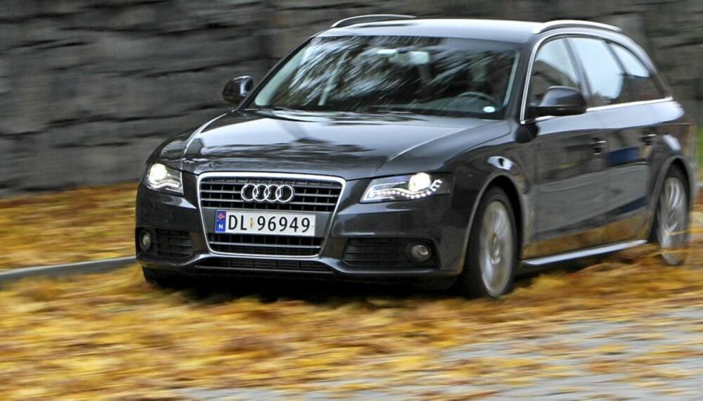 SMART PAKKE: Audi jobber for å få mest mulig kjøreglede og sportslige veiegenskaper inn i bilene sine. Også de billigste.