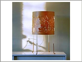 NORSK DESIGN: Lampen Norwegian Forest, av Cathrine Kullberg, fra Bo Nordisk.