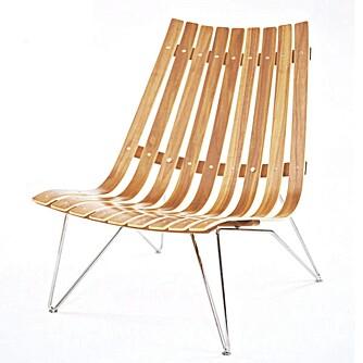 NORSK: Loungestol fra Scandia, hos Pur Norsk.