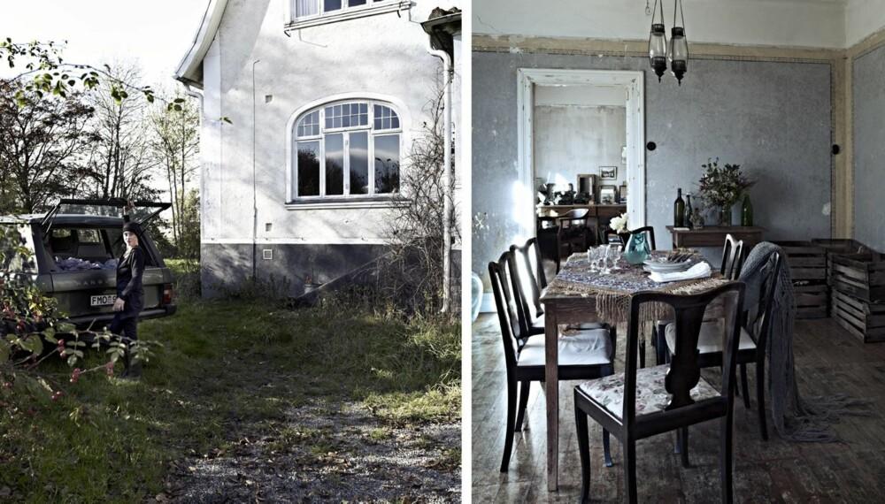 VAKKERT FERIHUS MED HISTORISK SUS: Christina Höglund jobber til daglig som kulturjournalist og filmskaper i Stockholm, men reiser til feriehuset i Komstad i Skåne så ofte hun kan. Hennes sans for gamle ting og estetikk kommer tydlig til syne både utvendig og innvendig i huset.