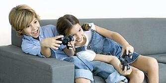 BLIR AGGRESSIVE: Det er nå bevist at barn kan bli aggressive av å spille voldelige dataspill.
