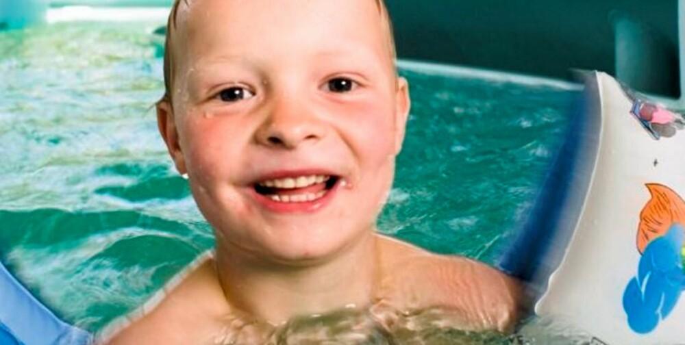 MORO: Å leke seg i bassenget i Aqualand er en fryd for ungene.