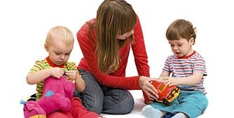 ARV ELLER MILJØ: Er det biologiske forskjeller som gjør at selv babyer og små barn velger tradisjonelt?