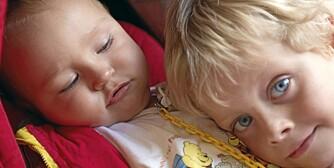 SØSKENKJÆRLIGHET: Bøker om å få søsken kan være til god hjelp for en fersk storebror eller storesøster.