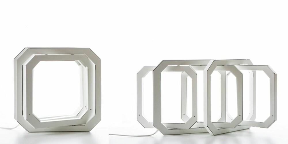 SAMMENLEGGBART LYS: Mahmoud Akram har designet lampen Joe for Triode Design. den finnes både som vegg- og bordlampe, triodedesign.com