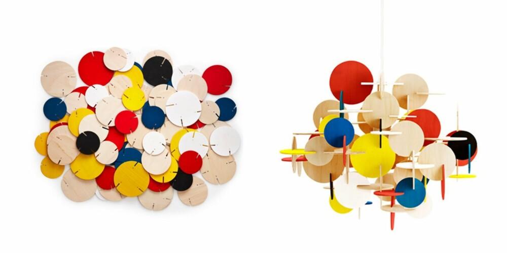 DELVIS: Du kan kjøpe pendelen Bau i flere varianter, både i farger eller natur, normann-copenhagen.com