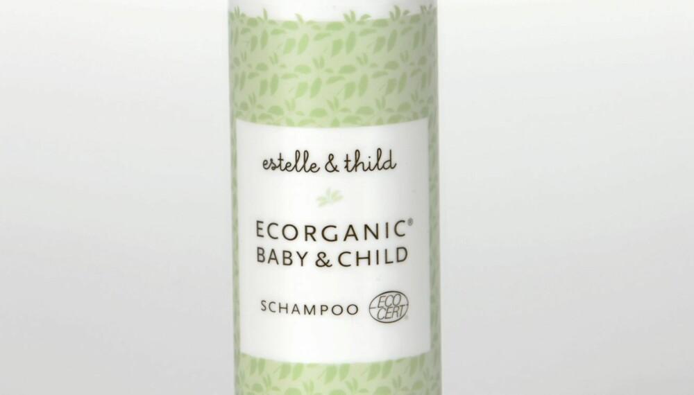 SJAMPO: Estelle & Thild Ecorganic Baby & Child anbefales uten forbehold.