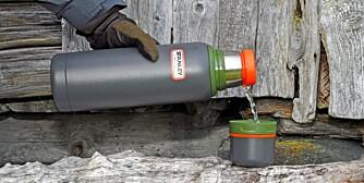 SKAL HOLDE VARMEN: Vi har testet ut hvilke termoser som holder kaffen varm.