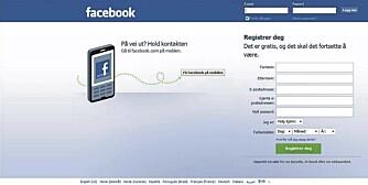 FASADEBYGGING: På Facebook kan man dele familielykken med mange på en gang. Og få respons i haugevis.