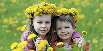"""INGEN OVER, INGEN VED SIDEN: """"Barna har laget egne blomsterkranser til mamma. Søtt!"""" Foreldre legger ut om små og store hendelser i sitt statusfelt på Facebook."""