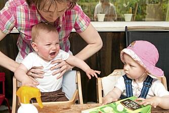 MOR OG MAMMA: - Vi har selvsagt tenkt på hvordan barna våre vil oppleve det å vokse opp med to mødre, sier Kathrine.