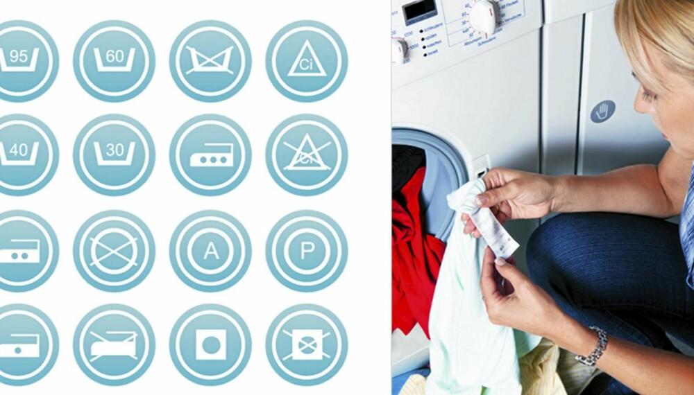 KNEKK KODEN: Det ser komplisert ut, men det krever bare litt info å bli din egen vaskeekspert.