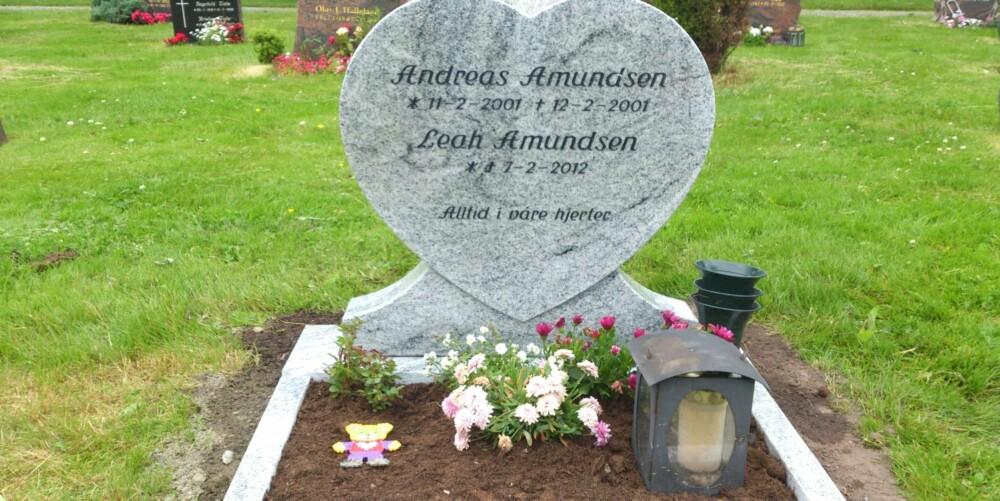 STORT TAP: Familien Amundsen har to barn for lite.