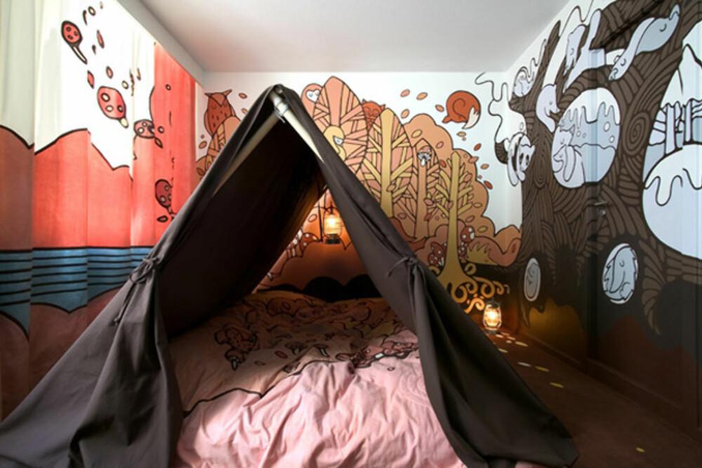 HOTEL FOX: Campingferie hvor du ikke trenger å bekymre deg om det regner.