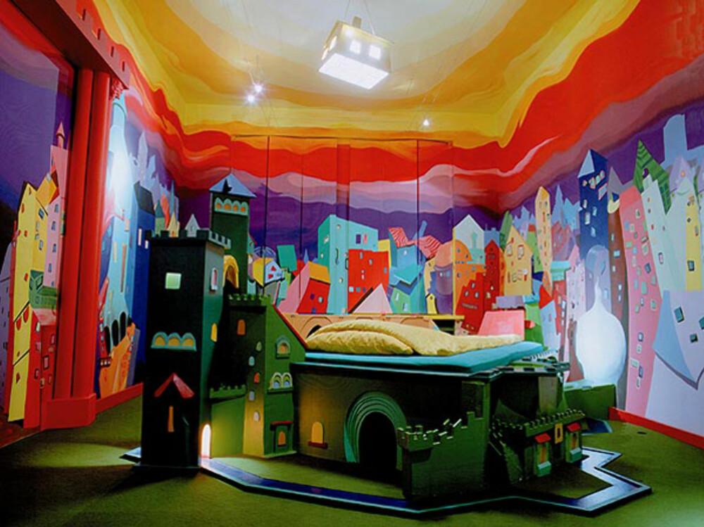 PROPELLER ISLAND CITY LODGE: I Berlin bor du i stil på dette kule rommet.