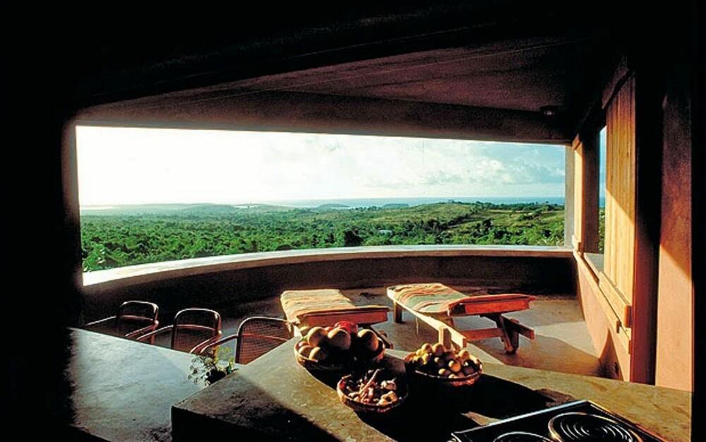 HIX ISLAND HOUSE: Hva er mest imponerende, rommet eller utsikten?