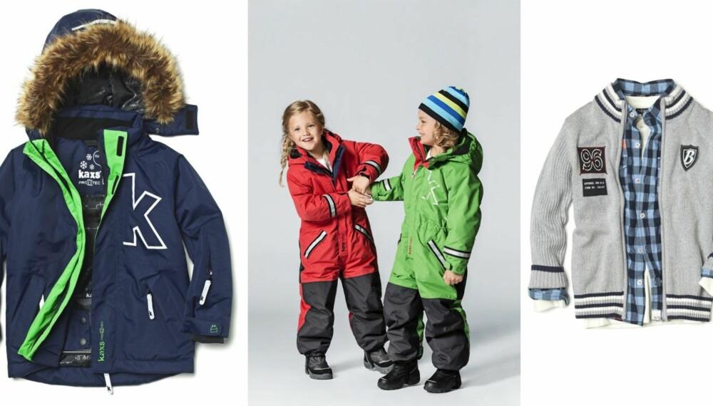 HØSTKLÆR: Fem heldige vinnere stikker av med gavekort og kan kjøpe disse klærne fra Kappahl.
