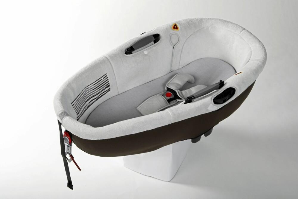 GOD BABYKRYBBE: Bebe Confort Windoo Plus. Den eneste testede modellen i årets test som oppnår full score i både front- og sidekollisjonstestene.