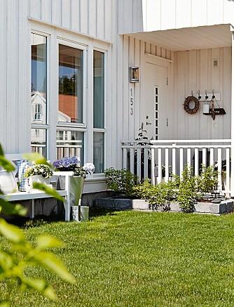HAGEKOS: Huseby-heimen er et ferdighus med kos i alle hjørner.