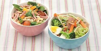 Frist med en innholdsrik salat. Foto: Kagge forlag