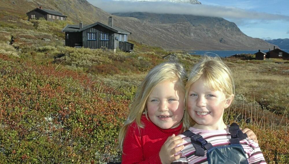 BRA FOR BARNA: Ferie i fjellet er både mer sosialt og bedre for helsa enn å dra til Syden.