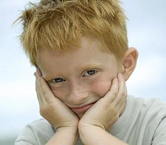 Donorbarn: Rødhårede barn er lite ettertraktet blant skandinaviske par som ønsker sæddonasjon.