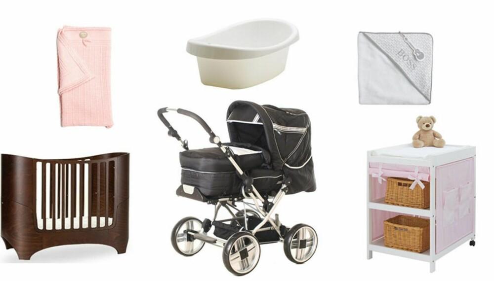 STORT MARKED: Det er mye å velge mellom når det gjelder babyutstyr, og ikke lett å vite hva man egentlig trenger.