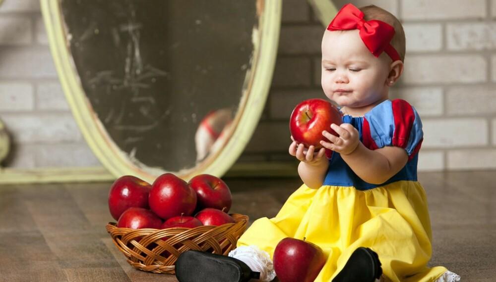 MADDIE SOM SNEHVIT: De nydelige fotografiene av baby Maddie er tatt av den amerikanske fotografen Wendi Riggins.