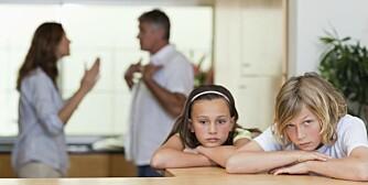 BARNAS BESTE: Det er ikke alltid like enkelt å vite hva som er best for barna i en skilsmissesituasjon.