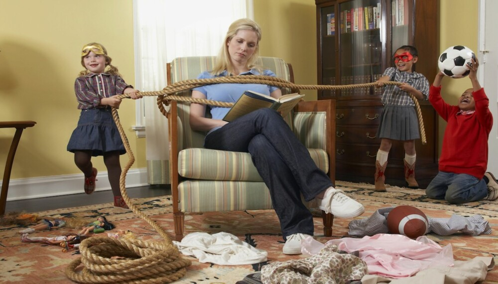 MYE LIV: Som flerbarnsmor er det ofte mye som skjer rundt deg. Dagene er hektiske og det kan være vanskelig å finne tid til seg selv.