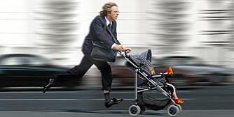 RO NED: Stress er farlig for små barn
