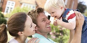 FAMILIELIV: Heldigvis er det ikke antall timer som teller. Men unngå at det blir for mye stress og uro de få timene dere er sammen med barna hver dag.