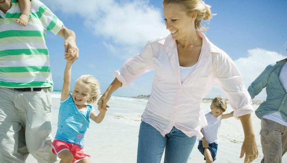 VENNEFAMILIEFERIE: Det kan være veldig lurt å planlegge litt på forhånd før man reiser på ferie med en annen familie.