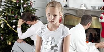 ENSOM JUL: Julen skal være en tid for glede og hygge, men for mange barn byr julen først og fremst på ensomhet.