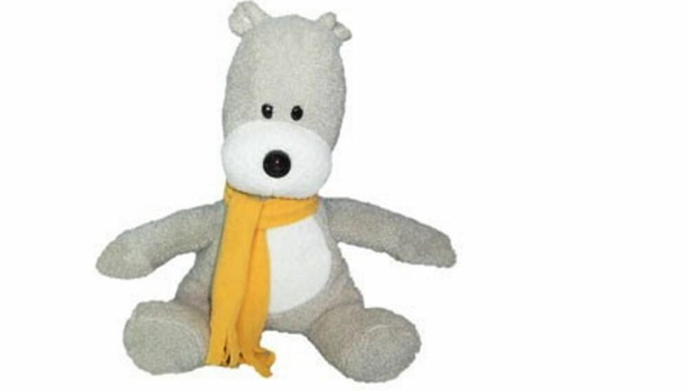 TEDDYBJØRNEN SER DEG:  Denne søte bamsen har kamera i nesetippen og usb-ledning i halen.