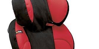 NY UTGAVE: Bilstolen HTS iZi Up (15-36 kg) er kommet i en ny og forbedret utgave under navnet iZi Up X2.