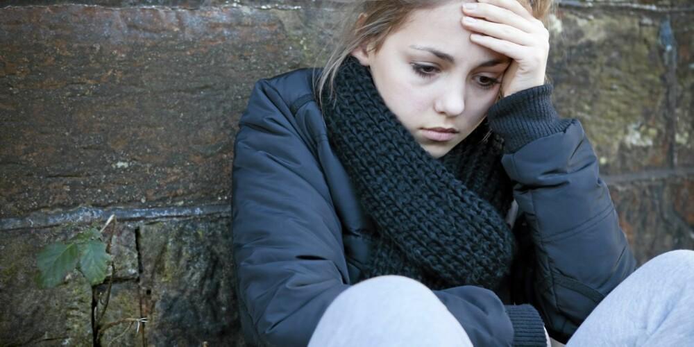 HELT ALENE: Mobbing er veldig traumatisk for den det gjelder og er ofte godt skjult.