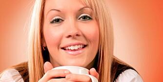 KAFFETØRST: Kaffe er ok sel vom du er gravid, men tenk på antall kopper.