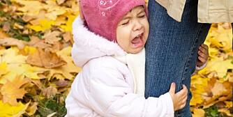 MAMMADALT: Mange små barn klenger på foreldrene. Vær obs på din egen tilstedeværelse.
