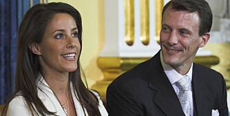 VENTER BARN: Prinsesse Marie og prins Joachim venter barn i mai neste år.