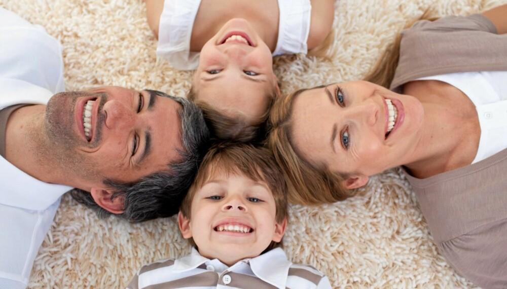 FAMILIELYKKE: Å ha mye tid sammen som familie er helt nødvendig, men det er også viktig å prioritere tid for seg selv.