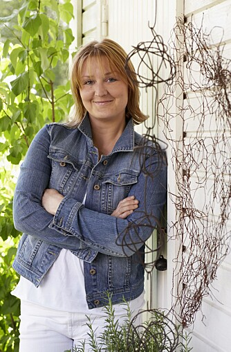 DRIFTIG DAME: Sofia Granath (35) er legesekretær og tingleter.