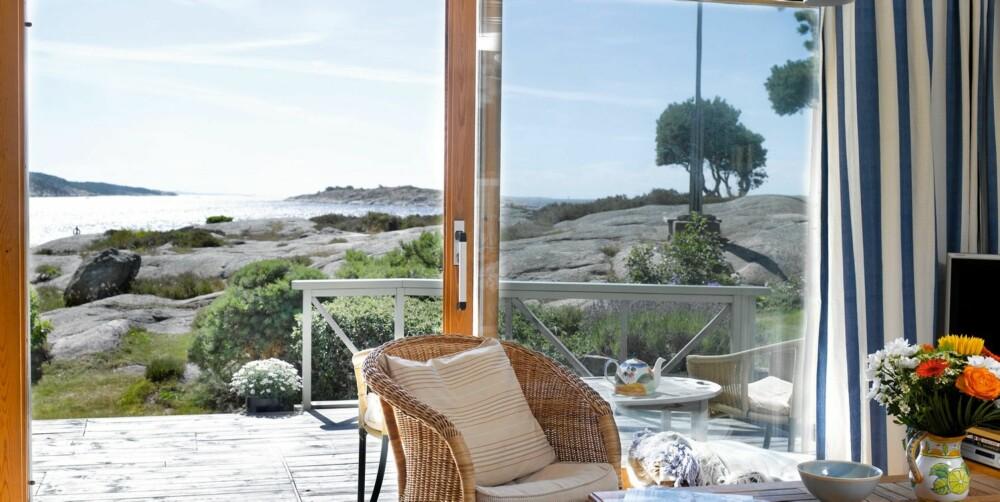 POPULÆRT PÅ HVALER: Drømmer du om denne utsikten må du være kjapp på avtrekkeren. Kun 13 dager tar det å selge en hytte på Hvaler, mot 45 dager i Lillesand og hele 105 dager i Risør.