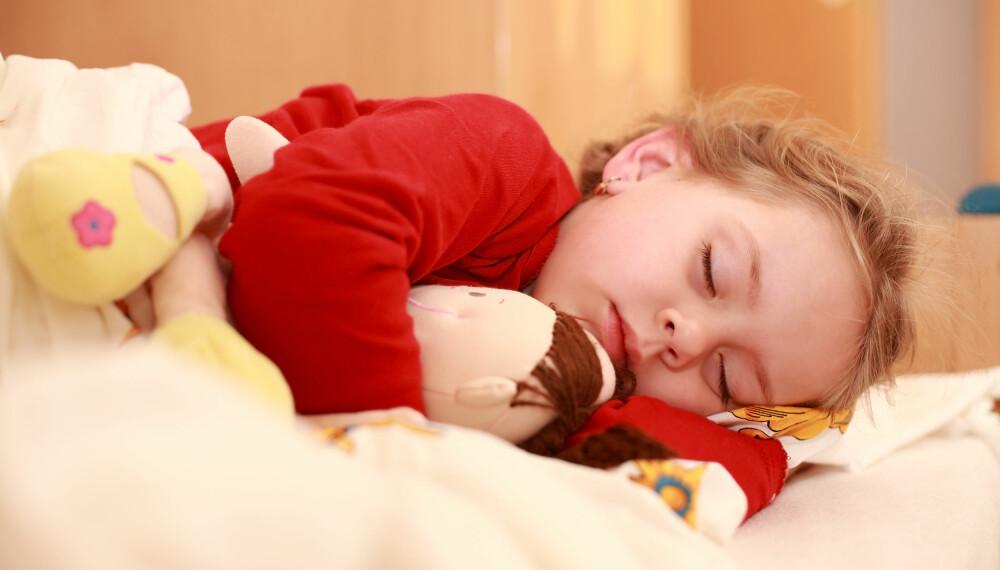 SOVE I BARNEHAGEN? Barn trenger tryggheten ved å sove hjemme og ikke i barnehagen, mener barnehageforsker.