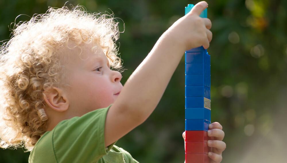 PERFEKSJONIST: Er barnet ditt en liten perfeksjonist som må ha alt til å stemme?