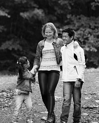 """FINT TREKLØVER: Sondre har aldri vært sjalu. """"Så lenge det er en som er blid, er det greit"""", sa han til moren da han hørte at han skulle få en lillesøster."""