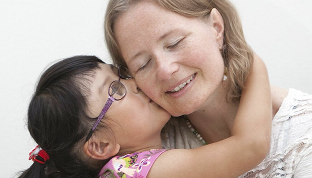 DET STØRSTE ØNSKET: Ellen Rudi fikk endelig oppfylt drømmen om å bil mor.